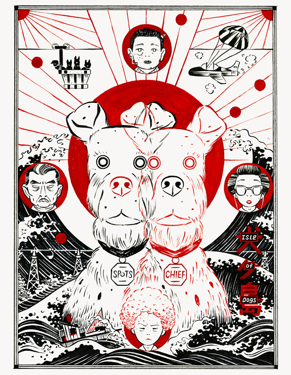 Poster Isle Of Dogs On Behance