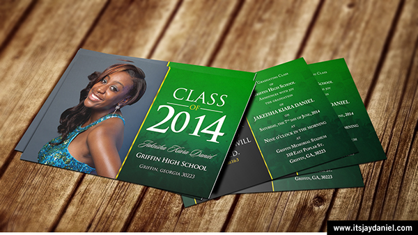 2014 Graduation Invitations on Behance