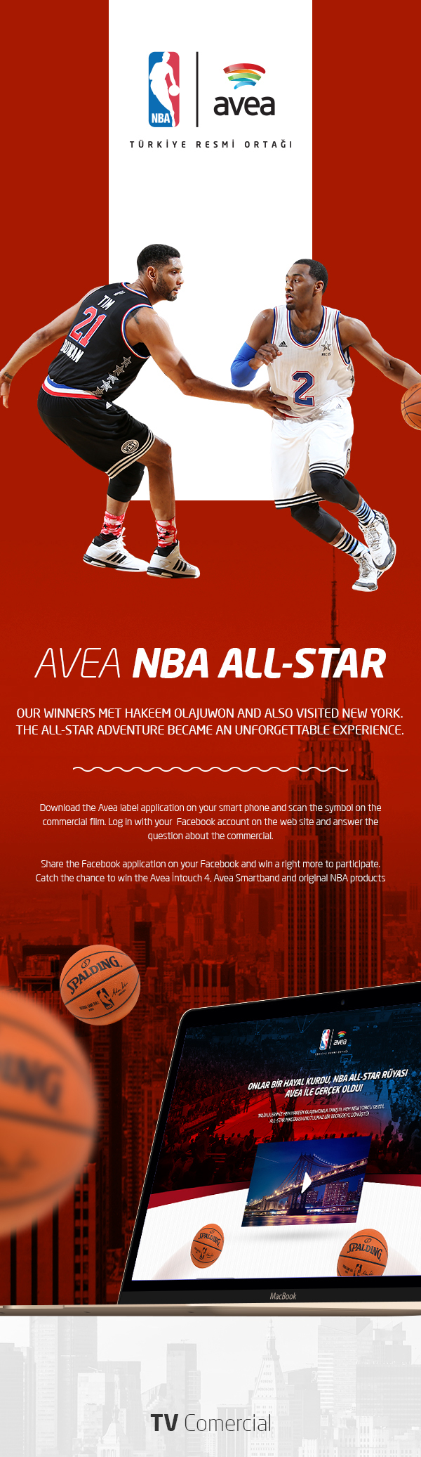 Avea nba all star web design mobile site on behance biocorpaavc Image collections