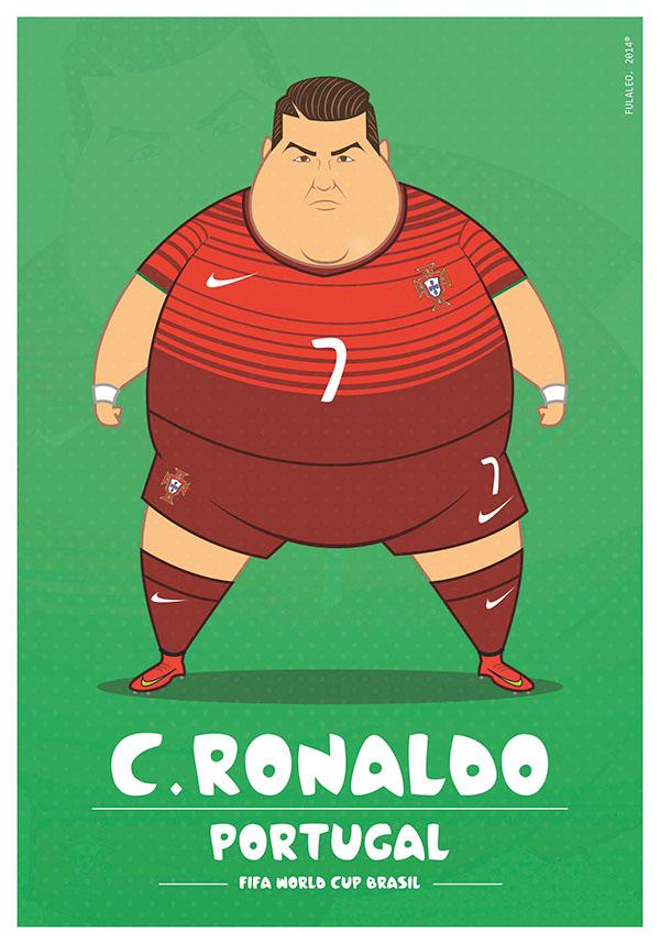 cristiano ronaldo messi benzema iniesta Neymar FIFA World Cup mundial Futbol soccer Brasil radamel falcao Brazil rooney james rodriguez