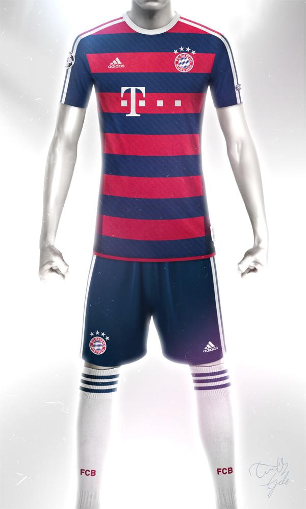 European Football Kit Designs On Behance