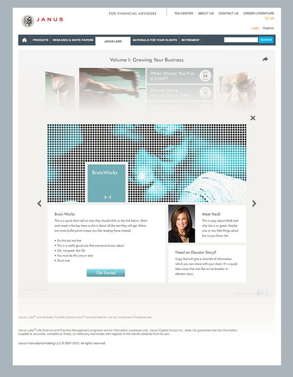 Creative UX design pitch