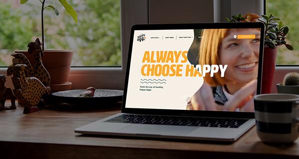 Website design Project - Happy Egg