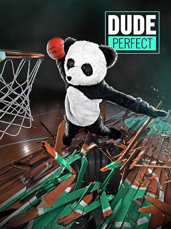Dude perfect panda hero on pantone canvas gallery for Dude perfect logo wallpaper