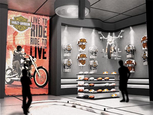 Harley Davidson Department Store On Behance