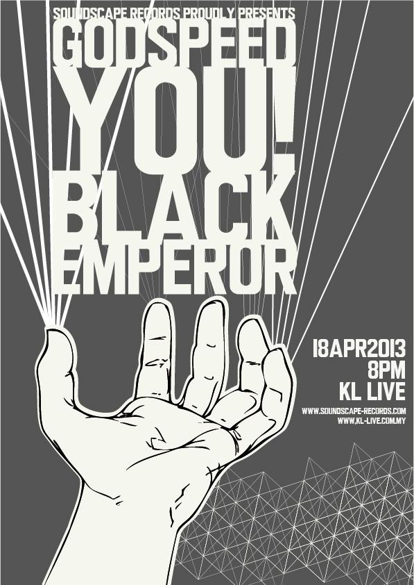 Godspeed You Black Emperor Live In Kl On Behance