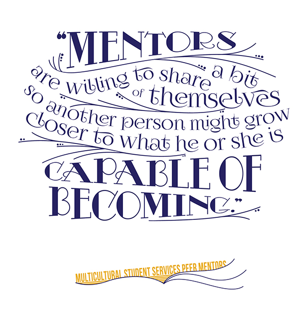 Mentor Quotes | Peer Mentor T Shirt Design On Behance