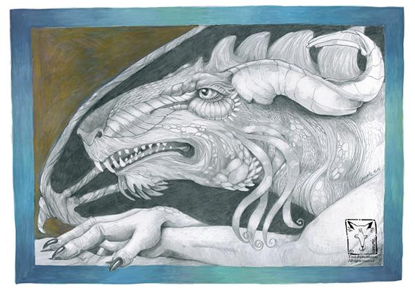 Fantasy dragons archetypes