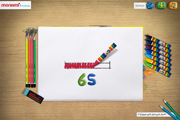 monami,friends,Icon,draw,pastel,color