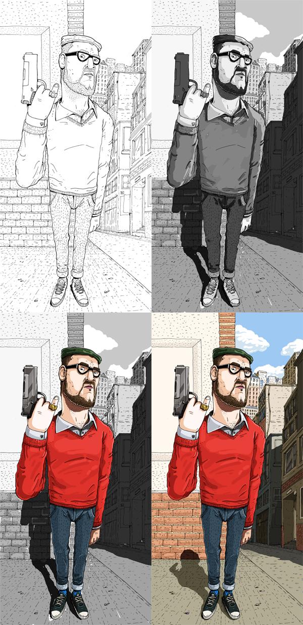 spain  gatotonto  jorge tabanera book cover comic