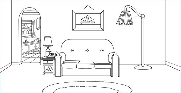 Simpsons Living Room On Behance