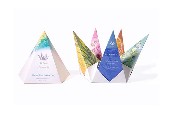 BLOOM Tea Packaging Design