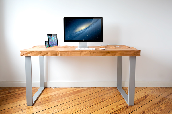 table furniture Low Poly 3D wood multifunctional Innovative Office product bachelor desk