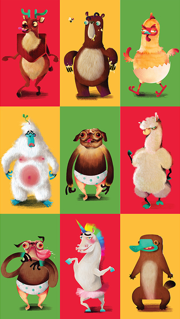 Character Design Classes In Nyc : Mountain dew mascot mixer on behance