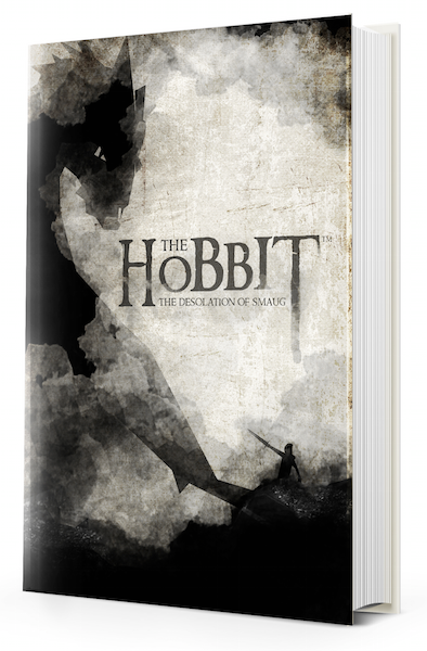 Book Cover Watercolor : The hobbit watercolor book cover on behance