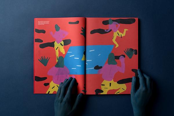mannheim germany red magazine editorial Komma