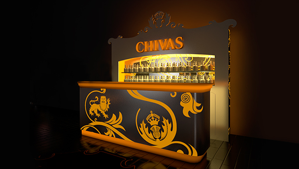 Regal Dachschrage Design: Chivas Regal On Behance