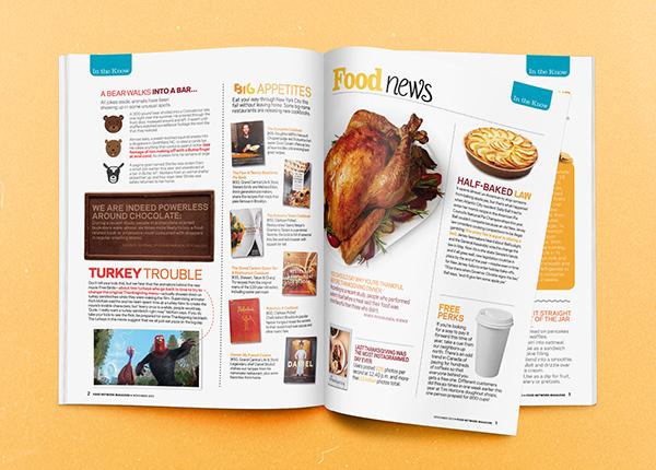 Food Network Magazine Layouts on Behance
