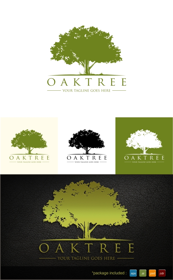 Oak Tree Logo on Behance