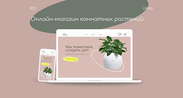 Онлайн-магазин комнатных растений