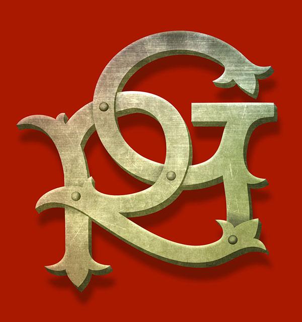 Logo Design Rg On Behance