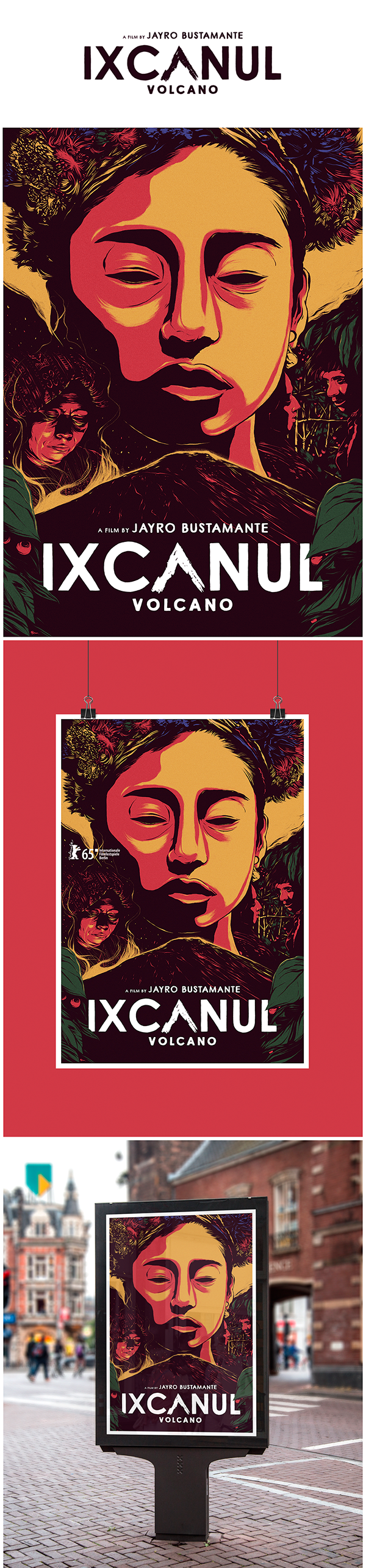 Ixcanul (Volcano) / Alternative Poster by Luis Pinto