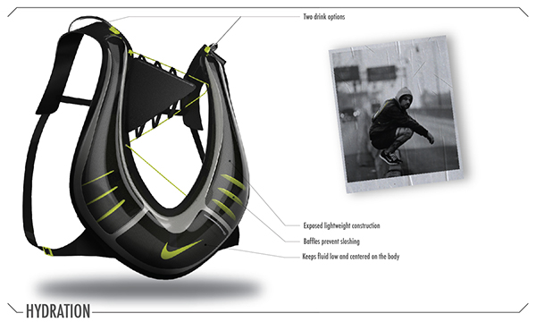 Nike Hydration Pack on Behance