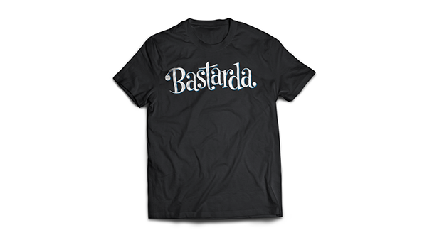 lettering Bastarda