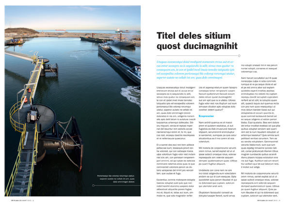 magazine redesign print