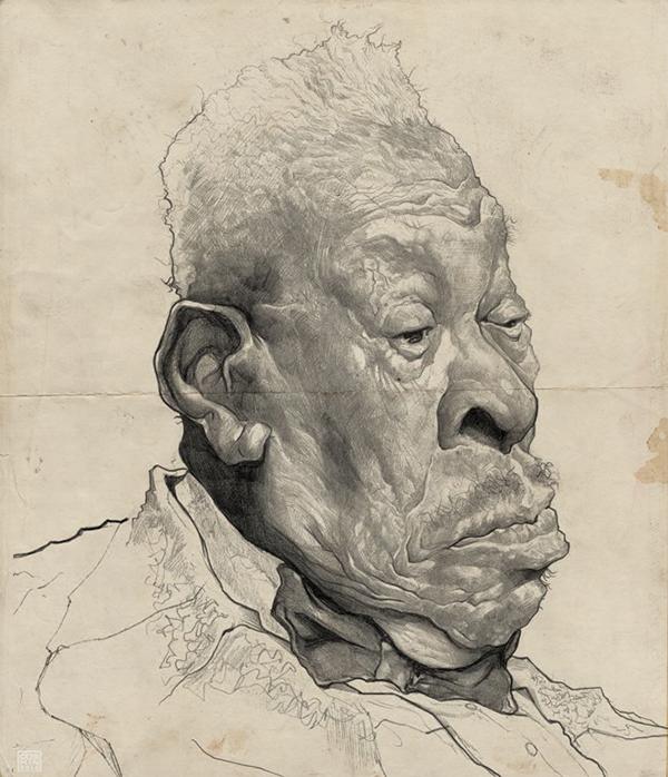 B.B.King homage by Cosmin Podar