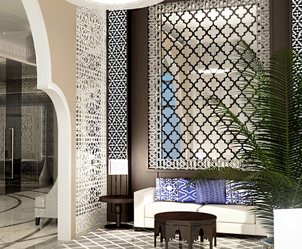 Hotel Apartment Moroccan Design On Behance