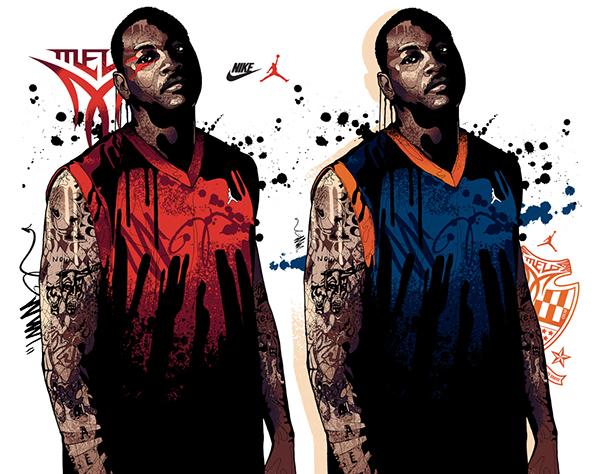 Nike jordan nikejordan Mitchy Bwoy Mitchybwoy NBA Carmelo Anthony Chris Paul dwyane wade Melo