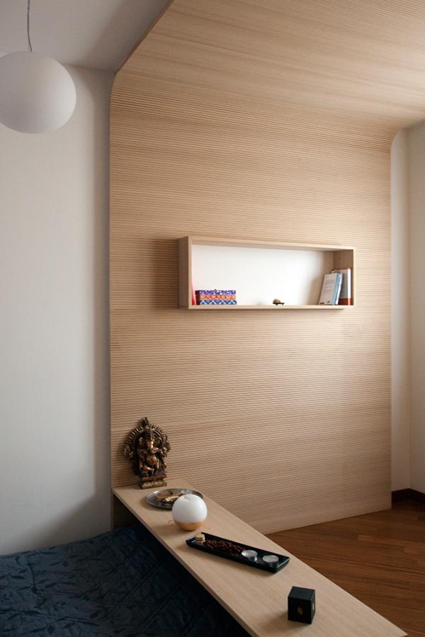 Meditation room on behance for Small meditation room