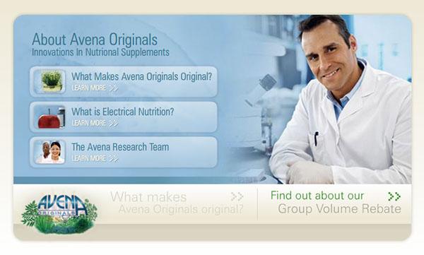 avena originals Ecommerce Health Packaging Flash