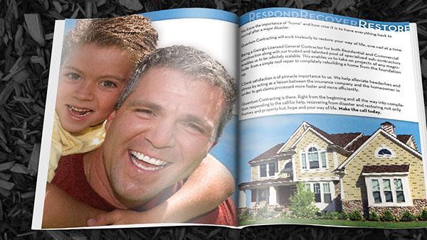 brochure construction