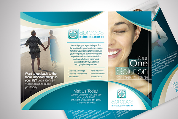 Apropos insurance solutions tri fold flyer design on behance apropos insurance solutions tri fold flyer design altavistaventures