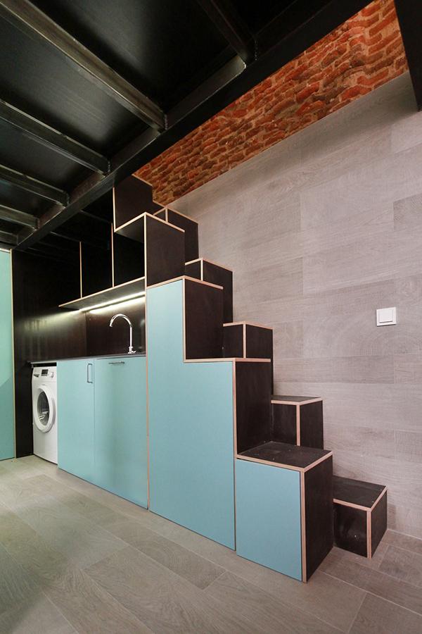 Loft 40m2 En C Oviedo Madrid On Pantone Canvas Gallery