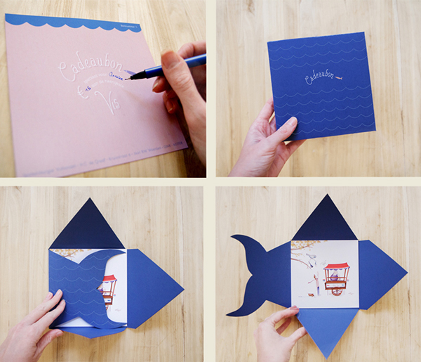 Gift Card For Dutch Fish Shop On Behance