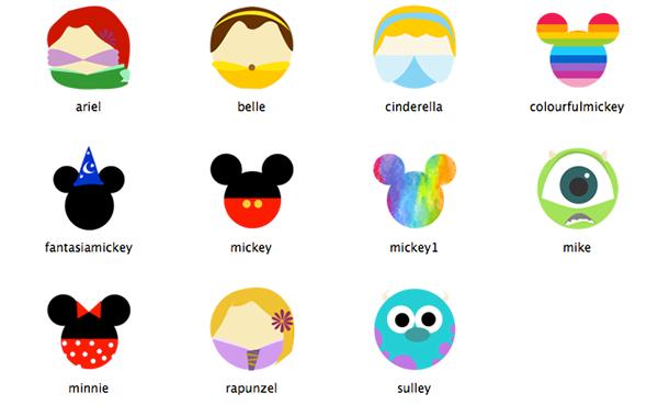 Character Design Job Singapore : Disney icons on behance
