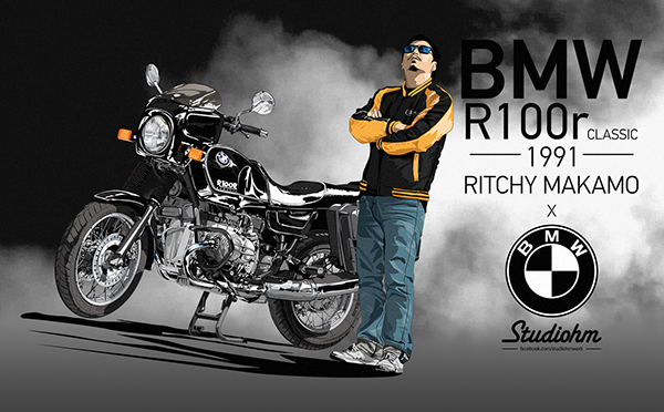 bmw r100r classic ritchy makamo on behance. Black Bedroom Furniture Sets. Home Design Ideas