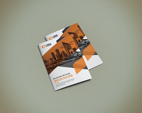 Minimal Bi-fold Brochure and Tri-fold Brochure