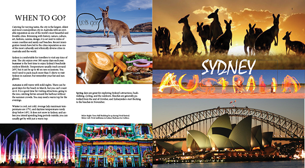 Travel Australia Brochure On Behance