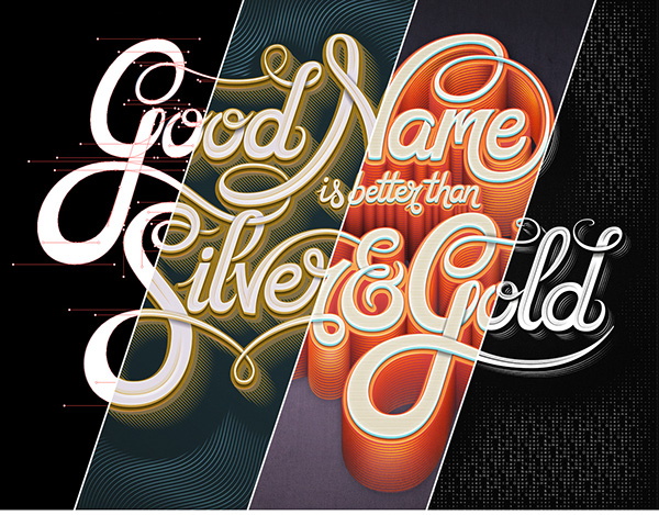 Good Name Is Better Than Silver & Gold by Mario De Meyer