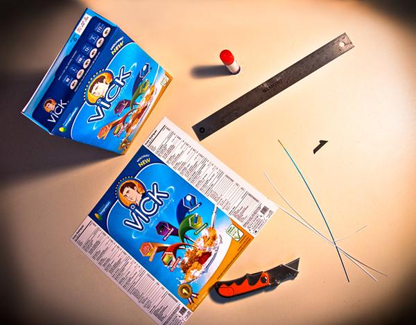 Curriculum Vitae Resume cereal box Self Promo