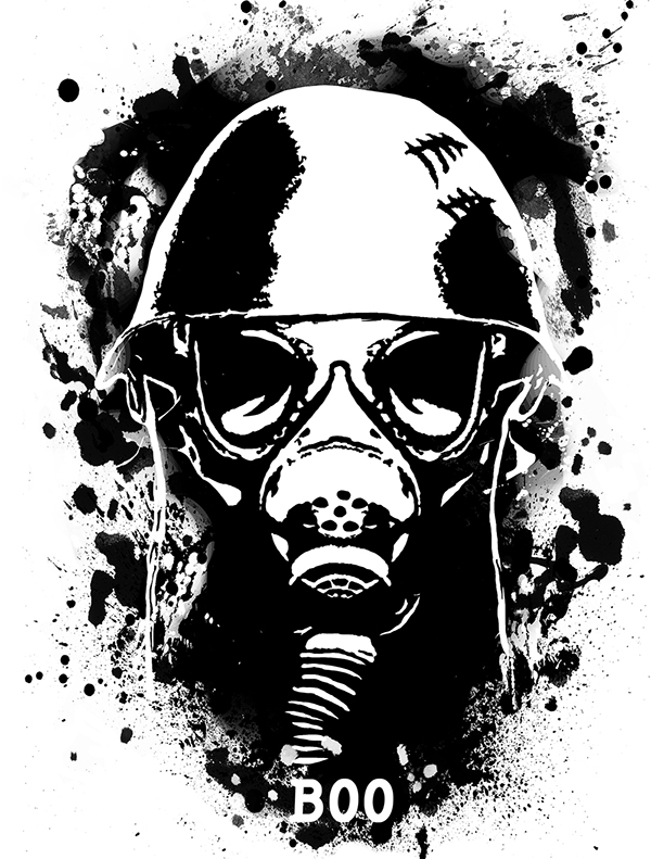 Gas Mask Shirt Gas Masks so i Did Some