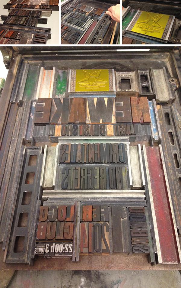 letterpress wood type Obsolete Letterpress