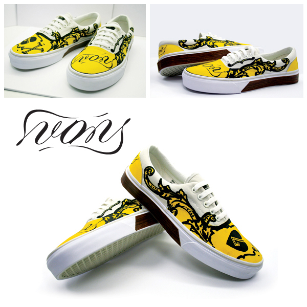 Drawing of Vans Shoes Vans Custom Shoes on Behance