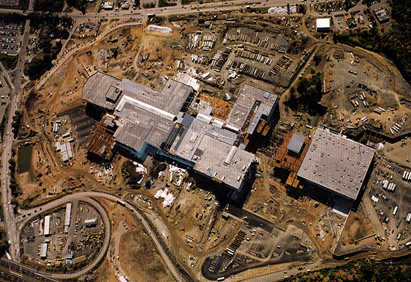 Palisades Mall Construction Site