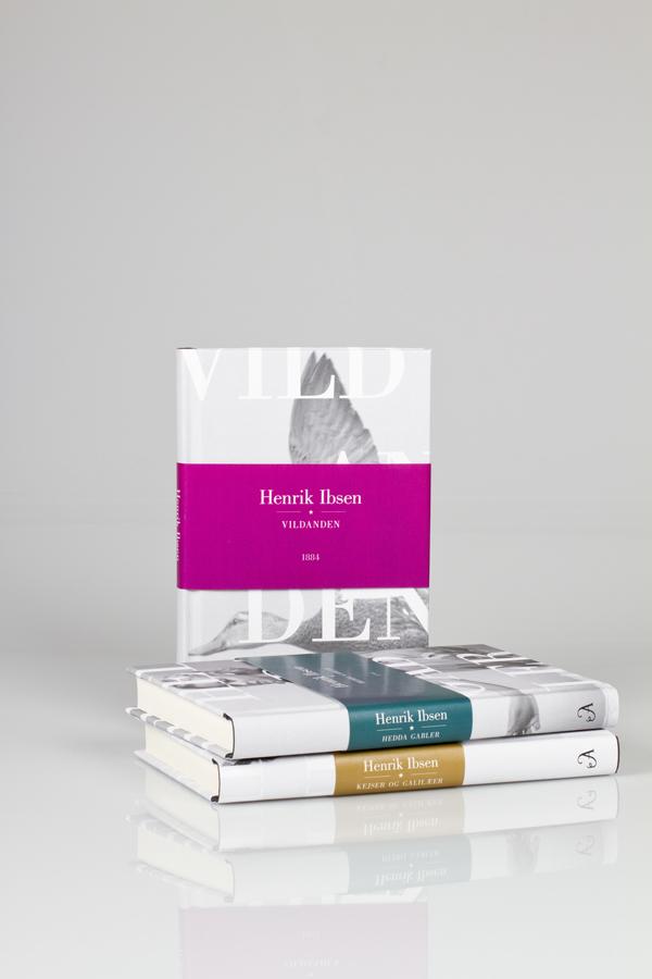 Classic book series cover Henrik ibsen