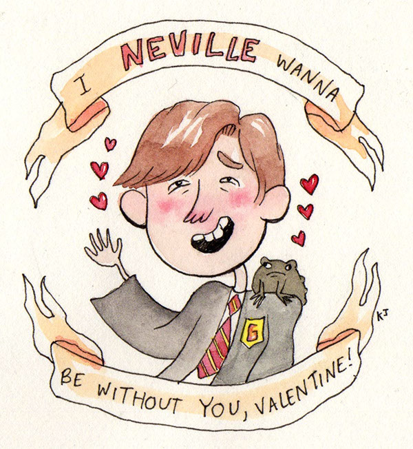 Harry Potter Valentines On Behance